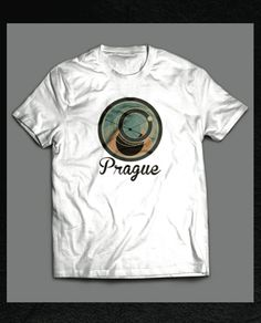 Prague T-shirt stylization 2012