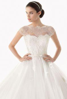 Pretty lace!!! ~ Rosa Clara 2014 Bridal Collection
