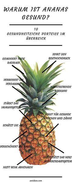 10 Gründe, Ananas gesund zu sein!