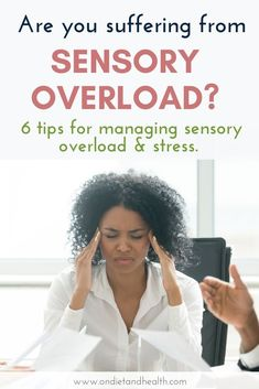 Are you suffering from sensory overload? This year has been a lot of all of us. If have feel tired, fatigued and stressed out, learn more about why you should know the signs of sensory overload and what you can do to manage it. Learn how to manage and overcome sensory overload to feel healthier and happier. Thyroid Medication, Normal Body, Sensory Overload, Learning To Say No, Muscle Tension, Neurotransmitters, High Cholesterol, Feel Tired, Stress Management