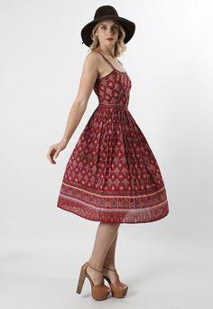 Summer dress vintage 70