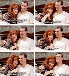 Al & Peggy Bundy . Married with Children Peggy Bundy, Al Bundy, Peggy Married With Children, Work Pranks, Kids Comedy, Legend Quotes, Best Funny Videos, I Love Lucy, Twisted Humor
