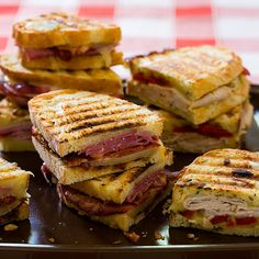 Salami, Capicola, and Provolone Panini Recipe - Cook's Country