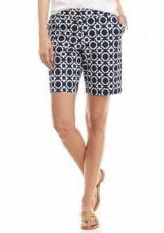 crown  ivy   Petite Lattice Star Shorts