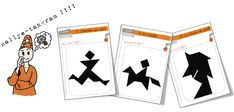Rallye Tangram - Bout de gomme Cycle 3, Math 5, Montessori Math, Fractions, School Projects, Classroom, Japan, Education, Games