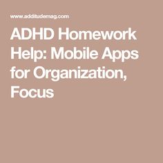 blog apps that help individuals with addadhd