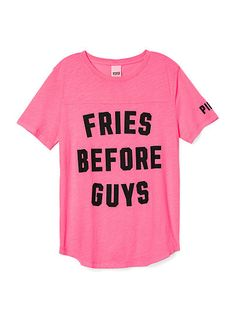 Perfect Legging Tee - PINK - Victoria's Secret @bublyblonde10 i found your shirt :)