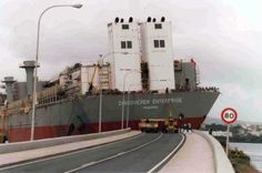 Enterprice aparca en Ferrol