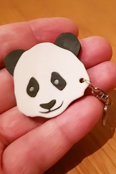 printed Panda Keychain with Custom Text option for nature lovers. It is always a super gift for girls and boys and the animal rights activists. Custom 3d Printing, 3d Prints, Pet Gifts, Gifts For Girls, Keychains, Customized Gifts, Panda, Label, Snoopy