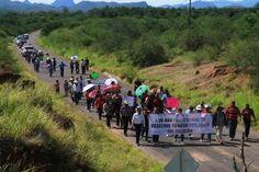 Marchan en el Río Sonora a un año del derrame