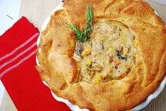 Light Chicken Pot Pie Recipe – 4 Points   - LaaLoosh