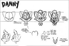 Flooby Nooby: Cats Don't Dance Model Sheets - Part 1