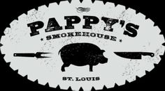 Named Best Ribs in America by the Food Network, Established Pappy's Smokehouse is a fast casual Memphis-style bbq, located in Midtown St. Bbq Places, Best Places To Eat, St Louis Mo, Blue City, Best Bbq, Smokehouse, Man Vs, Missouri, Carne
