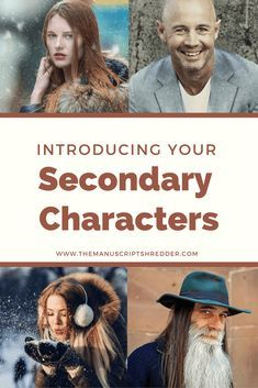 Writing Secondary Characters NaNoWriMo day 8 - The Manuscript Shredder Creative Writing Tips, Book Writing Tips, Writing Words, Fiction Writing, Writing Quotes, Writing Resources, Writing Help, Writing Skills, Writing Prompts
