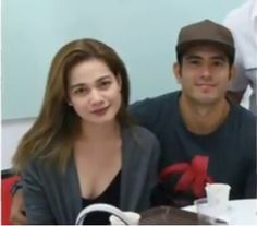 Bea with Gerald