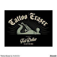 Tattoo Eraser Carte Postale by @teddollar  /#North America #tattoo #rockabilly #airborne #beard #barbershop #biker #motorcycle #pin-up #gothic #fuckoff #middlefinger #northamerica #quebec #canada #australia #usa #rockabillyrules #caferacer #instamotorcycle #instamoto #rock #apparel #swagg #tshirt #styles #jeans #ink #tattoo #burlesque #love #kustomkulture #gothic #instafashion #kustom #bettiepage #model #teddollar #chopper #rockabilly #pinup
