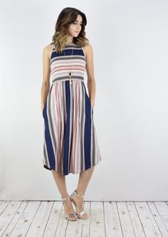 ~~~LOVE this dress! Try STITCH FIX today and get looks just like these delivered to your door--handpicked by your own personal stylist! Stitch fix spring. Stitch fix summer. Stitch fix dress. #affiliatelink