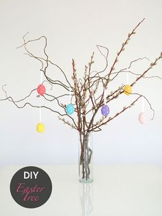 DIY: Easter Tree #DIY