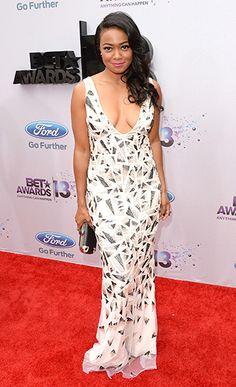 Tatyana Ali at the 2013 BET Awards