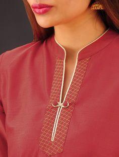 Style Heave: Neck Design For Women Charmed Dress Up Chudi Neck Designs, Neck Designs For Suits, Neckline Designs, Dress Neck Designs, Designs For Dresses, Sleeve Designs, Blouse Designs, Neck Patterns For Kurtis, Kurta Patterns