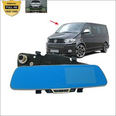 64.92$  Watch now - http://aliu5s.shopchina.info/go.php?t=32766613252 - For vw Transporter t4 t5 t6 Car front Mirror DVR Blue Screen  Video Recorder Dual Cameras parking monitor Camcorder wide angle  #buyonlinewebsite