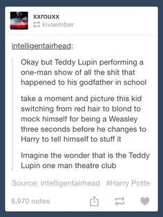 Teddy Lupin one-man theatre