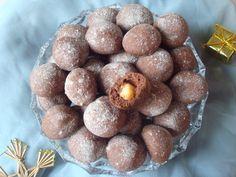 Schokoli (Kakaové kuličky plněné oříšky) - www.vune-vanilky.cz