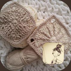 How to make – Elylou crochette by Crochet Eyes, Crochet Cord, Crochet Diy, Crochet Motifs, Crochet Amigurumi, Granny Square Crochet Pattern, Crochet Baby Shoes, Freeform Crochet, Crochet Diagram