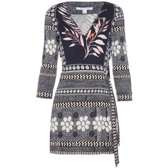 Diane Von Furstenberg Celeste playsuit ($468) ❤ liked on Polyvore featuring jumpsuits, rompers, navy print, patterned romper, diane von furstenberg, short rompers, playsuit romper and navy blue romper