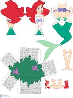 Ariel 3D para Montar Mais