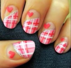 I am here with yet another exciting post of pink nail art designs and galleries for beginners. These pink nail art designs are way different, creative and tremendously adorable that one … Cute Nail Art Designs, Pink Nail Designs, Simple Nail Designs, Nails Design, Easy Designs, Pretty Designs, Nail Art Rosa, Pink Nail Art, Pink Nails