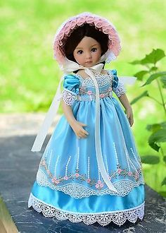 """""""Summer Daydream""""Regency Dress,Outfit,Clothes for 13""""Effner Little Darling"""