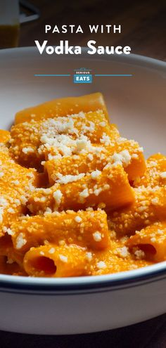 Vodka sauce has been a staple of Italian-American red sauce restaurants across the United States Rigatoni, Penne, Sauce Restaurant, Vodka Sauce Pasta, Good Food, Yummy Food, Serious Eats, Red Sauce, Thanksgiving Recipes