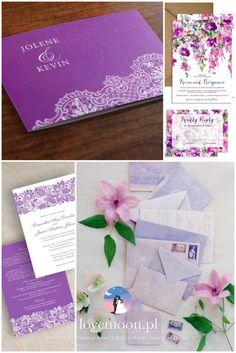 zaproszenia motyw kwiaty bzu fioletowe jasny fiolet ślub w maju wedding palette lilac colors invitations   http://lovemoon.pl  https://www.facebook.com/lovemoonpl/
