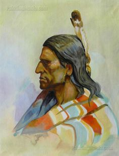 Piegan Indian by Charles Marion Russell
