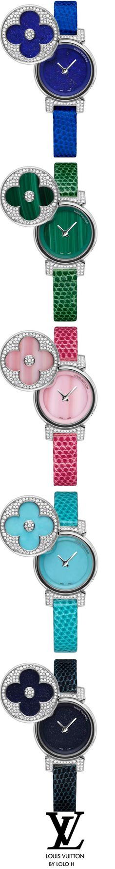 Louis Vuitton Tambour Bijou Secret watches