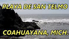 Playa de San Telmo en Coahuayana Michoacán México. Sitio turístico