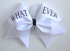 "3"" Wide Luxury Cheer Bow - Whatever"