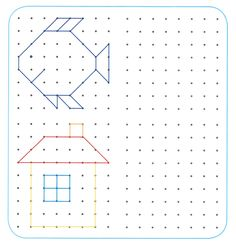 Learning Games, Kids Learning, Infant Activities, Activities For Kids, Visual Perception Activities, Free Printable Puzzles, Occupational Therapy Activities, Graph Paper Art, Montessori Math