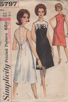 Vintage 1964 - Simplicity 5797