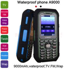 mobile phone on sale at reasonable prices, buy GOFLY bluetooth long standby power bank torch FM radio Vibration flashlight Dual SIM card cell mobile phone from mobile site on Aliexpress Now! King Power, Waterproof Phone, Dual Sim, Flashlight, The Voice, Sims, Cards, Mantle, Maps