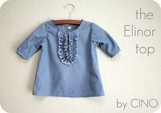 the Elinor top tutorial – Craftiness Is Not Optional