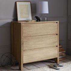 Boerum 3-Drawer Dresser - Natural | west elm