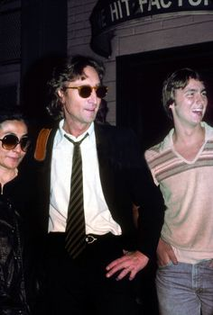 Today 12-6 in 1980, John Lennon was at the Hit Factory recording studio in NYC working on the tracks for the Double Fantasy LP - he gave a radio interview with the BBC that day to Andy Peebles - it would be John's last interview.