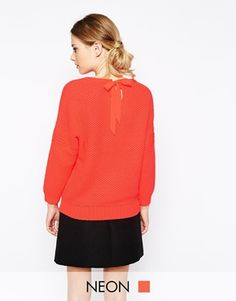 Ted Baker - Oversized Sweater with lace at the back
