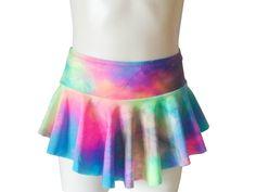 """Figure skating skirt """"Tinkerbell"""" - Dentelle Sportswear Figure Skating Dresses, Ballet, Tinkerbell, Tie Dye Skirt, Skate, Sportswear, Collection, Etsy, Fashion"""