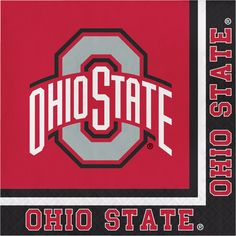 Ohio State Univ Lunch Napkins/Case of 240 Tags: Ohio State University; Lunch Napkins; Collegiate; Ohio State University Lunch Napkins;Ohio State University party tableware; https://www.ktsupply.com/products/32786324512/Ohio-State-Univ-Lunch-NapkinsCase-of-240.html
