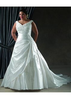 Taffeta Wedding Dresses Customize Your Own Wedding Gowns A Line Hall Church Chic And Modern Sleeveless Chapel Train Straps V Neck Wholesale Wedding Dresses Wedding Gown A Line, Plus Size Wedding Gowns, Lace Wedding Dress, Perfect Wedding Dress, Wedding Dress Styles, Bridal Dresses, Bridesmaid Dresses, Party Dresses, Dresses Uk