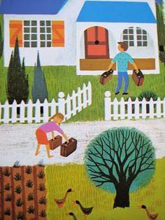 CHILDREN'S ILLUSTRATION by classic children's illustration by French illustrator Alain Grée