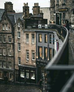 - at Victoria Street, Edinburgh City Aesthetic, Travel Aesthetic, Beautiful Buildings, Beautiful Places, Places To Travel, Places To Visit, Storm In A Teacup, Architecture, Aesthetic Pictures